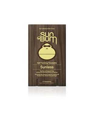 Sun Bum Self Tanning Towelettes, 5 pack