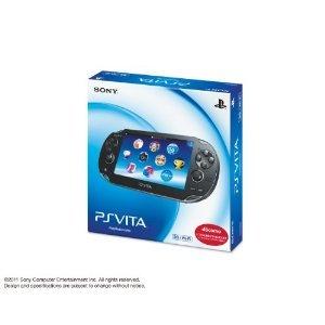 PlayStation Vita (プレイステーション ヴィータ) 3G/Wi‐Fiモデル クリスタル・ブラック (限定版) (PCH-1100 AB01)