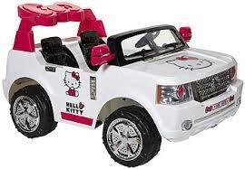 Hello-Kitty-Bow-Tie-SUV-Ride-On