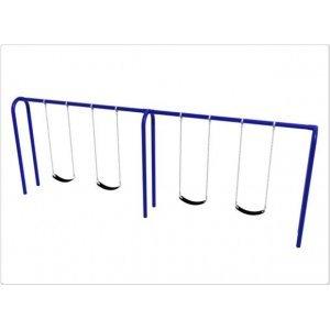Arch-Swing-Frame-4-Swings-35-Inch-Post
