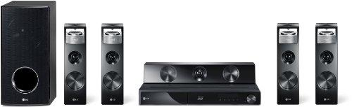 LG HX906SX 3D 9.1 Heimkinosystem (Smart TV, 2x HDMI, DLNA/DivX-zertifiziert, Apple iPod Dock) schwarz