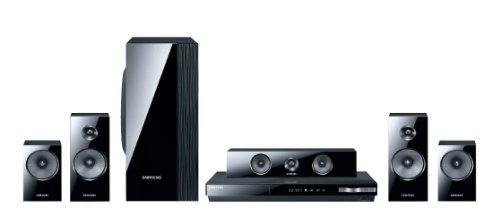 Samsung HT-E5500 5.1 3D-Blu-ray-Heimkinosystem (1000 Watt, WLAN) schwarz
