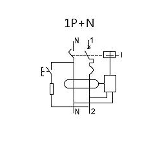 ASI NDB1L-32C-16-120V DIN Rail Mount Ground Fault Circuit