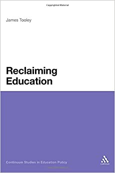 Reclaiming Educaiton Book Cover