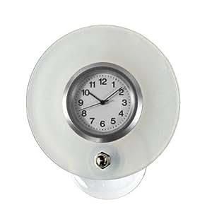 Amazoncom  OFFORM suctioncup clock for bathroom mirror