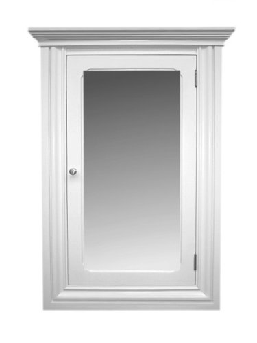 Reviews St Carmen White Recessed Medicine Cabinet