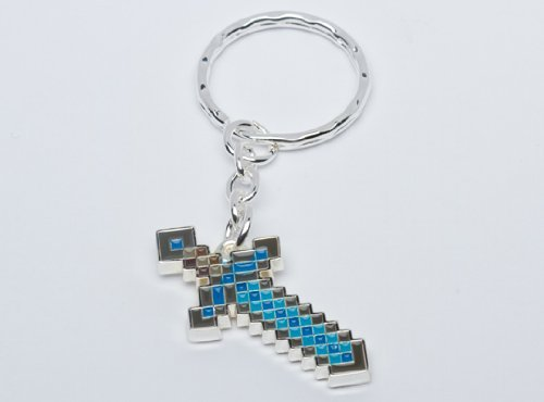 Buy Minecraft Men's Jinx Diamond Sword Keychain at Ninja