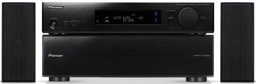 Pioneer HTP-SL050 2.1 Heimkinosystem (VSX-S300 Slimline-Receiver, S-SL050 Lautsprechersystem, 3D, 300 Watt, Dolby Digital, DTS) schwarz