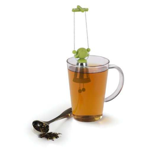 Umbra Marionette Tea Infuser, Avocado