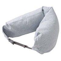 Amazon.com: MOMA Muji Well-Fitted (Microbead) Neck Cushion ...
