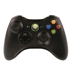 [モンスターハンター フロンティアオンライン推奨] マイクロソフト ワイヤレス ゲーム コントローラーXbox 360 Wireless Controller for Windows リキッド ブラック JR9-00013