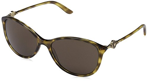 Versace Damen VE 4251 Pop Chic vanitas Cateye Sonnenbrille