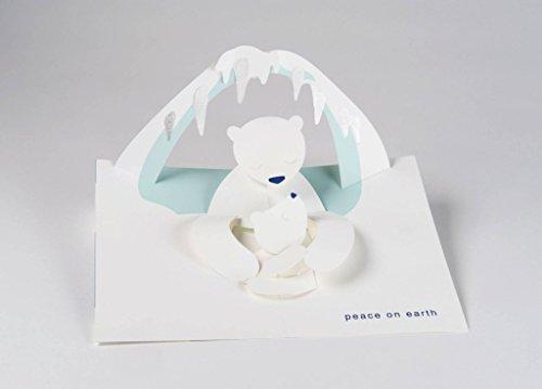 Robert Sabuda Polar Bears Boxed Holiday Pop Up Cards New