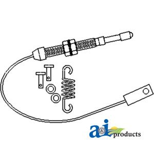 Amazon.com: A & I Products Cable, Throttle Replacement for