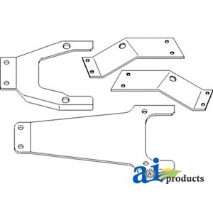 Amazon.com : A & I Products Kit, Seat Bracket Replacement