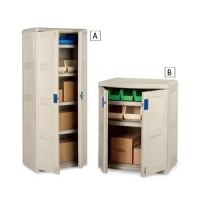 SUNCAST Indoor/Outdoor Storage Cabinets- LETTER A ONLY - Beige