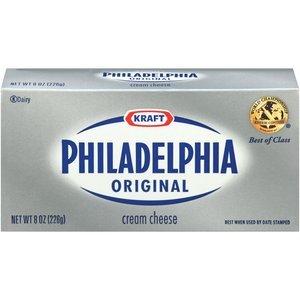 KRAFT PHILADELPHIA CREAM CHEESE BRICK ORIGINAL 8 OZ PACK ...