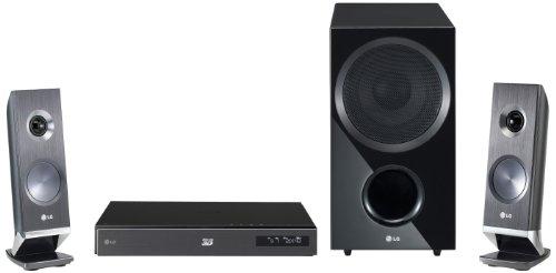 LG HX966CZ 3D 2.1 Heimkinosystem (Smart TV, HDMI, Upscaler 1080p, DivX-zertifiziert, USB 2.0) schwarz