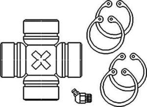 Amazon.com: New Cross & Bearing Kit 3475808M1 Fits MF 240