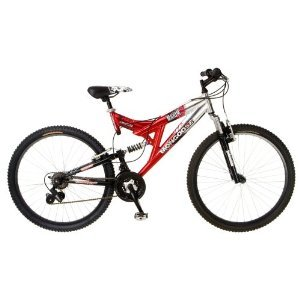 Mongoose Maxim Dual-Suspension Mountain Bike (26-Inch
