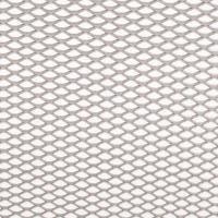 Alu-Renngitter StreckgitterDesign fein, gerade silber 20x100cm