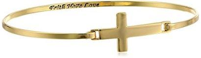 Sterling-Silver-Cross-with-Faith-Hope-Love-Inscription-Bangle-Bracelet