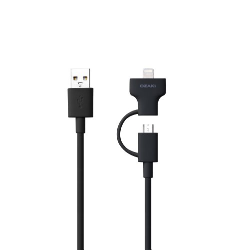 OZAKI O!tool Sync/Charge Combo Cable Black