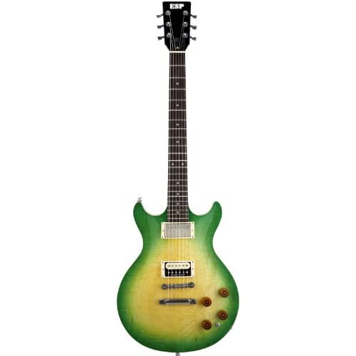 ESP イーエスピー エレキギター 助六 IGUANA Ken Yokoyama Signature Green BurstをAmazonでチェック!