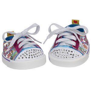 Build A Bear Workshop SKECHERS Twinkle Toes Sneakers Shopping Sketcher Shoes Cheap