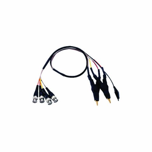 GW Instek LCR-12 4 Wire Test Lead with Kelvin Clip for
