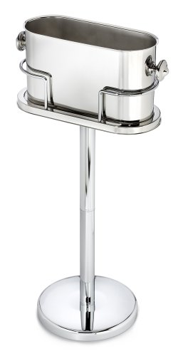 Marquis By Waterford Stainless Steel Ice Bucket Stand