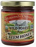 Heavenly Organics Organic Wild Forest Raw Honey Unheated -- 12 oz