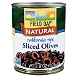 Field Day California Ripe Sliced Olive, 3.8 Ounce -- 12 per case.