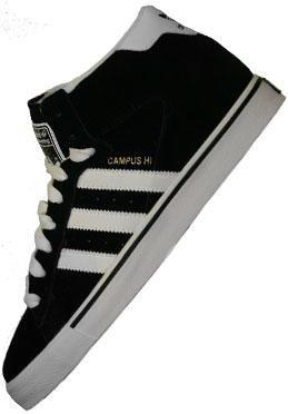 Sneaker adidas Campus Vulc Mid black1/runwh 11.5