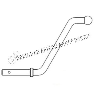 Rapartsinc 527943R1 New Lift Arm Handle Made For Case-Ih