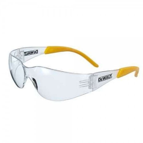 31tY9UgrwvL - BEST BUY #1 DeWalt Protector Clear Ploycarbon Safety Glasses - Yellow/Clear, One Size