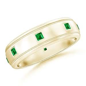 Mens Emerald Wedding Bands Car Interior Design