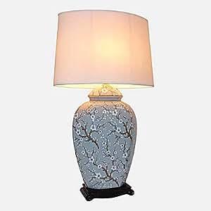 Large Oriental Ceramic Table Lamp (M5840)