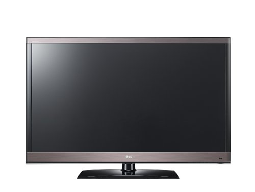 LG 47LV579S 119 cm (47 Zoll) LED Backlight Fernseher, Energieeffizienzklasse A  (Full-HD, 500 Hz MCI, DVB-T/C/S, CI+, Smart TV) schwarz/hochglanz-bronze
