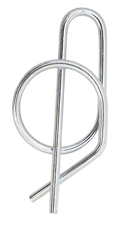 3/4 Shaft Size, Automatic Locking Ring Cotter Pins, Zinc