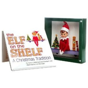 """Cover of """"Elf on the Shelf"""""""