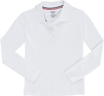 French-Toast-Big-Girls-Long-Sleeve-Interlock-Polo-with-Picot-Collar-White-8