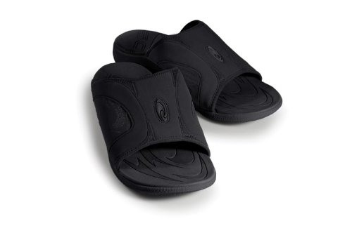 SOLE Men's Sport Slide,Raven,12 D (M) US