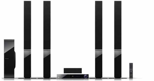 Pioneer BCS-717 5.1 Blu-ray Heimkinosystem (3D, HDMI, DLNA, 1.5 Streaming-Client, WiFi, Apple iPod Dock, USB 2.0) schwarz