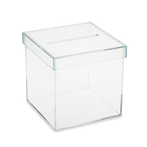 Source One Outstanding Quality Acrylic Donation Box With