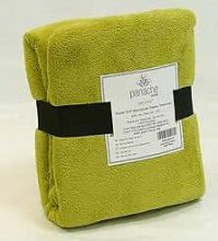 Skippys Throw Snuggle Touch Microfibre Lime Green 140x180 ...