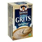 Quaker, Instant Grits, Original, 12 Count, 12oz Box (Pack of 3)