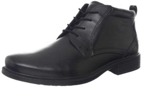 Ecco Men S Dublin Plain Toe Gtx Boot Black 39 Eu 5 5 5 M