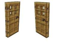 The gallery for --> Minecraft Papercraft Door