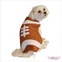 Amazon.com : Football Dog Costume Size: X-Small : Pet ...